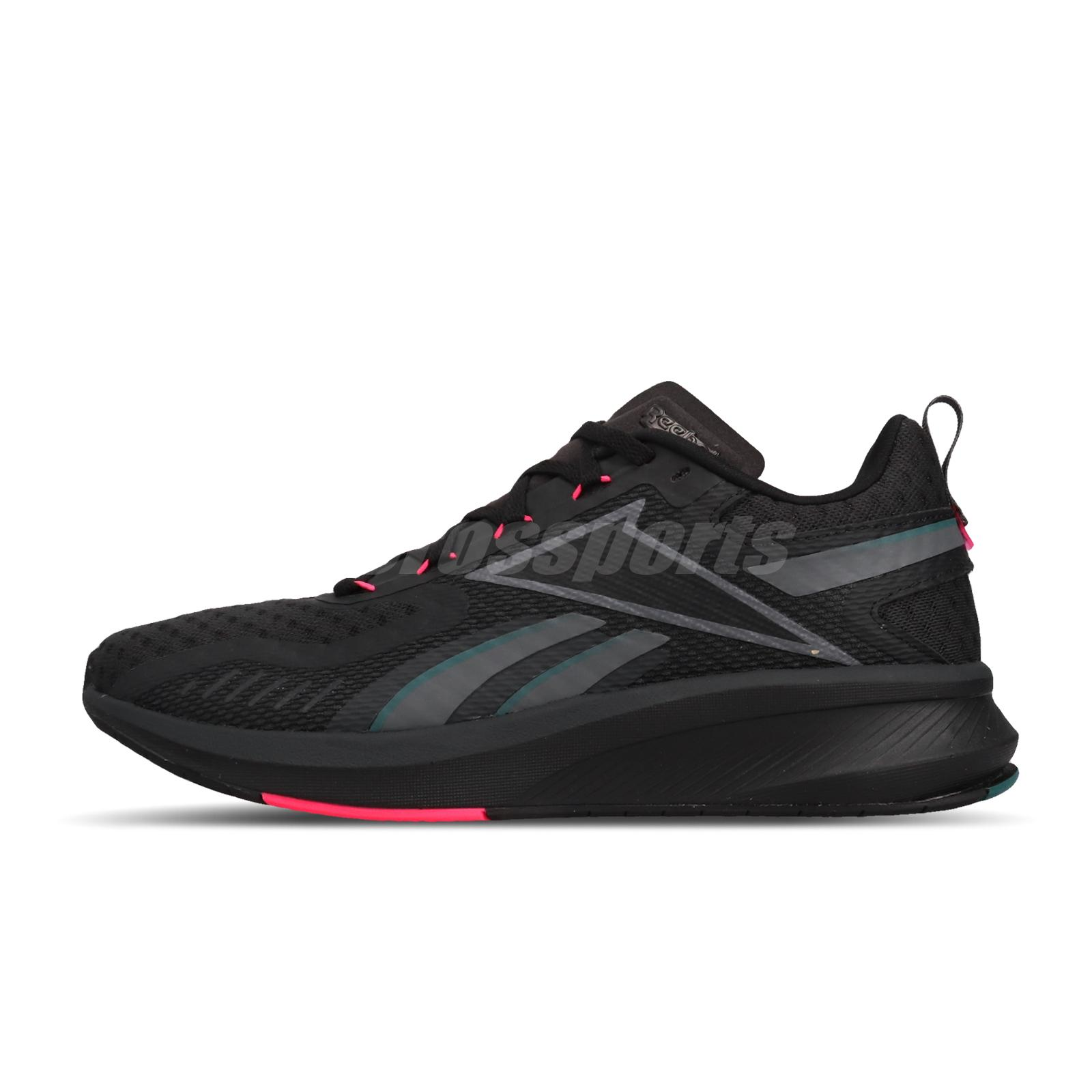Reebok Rbk Fusium Run 20 Black Alloy Teal Gem Men Running Shoes Sneakers Eg9923 Ebay