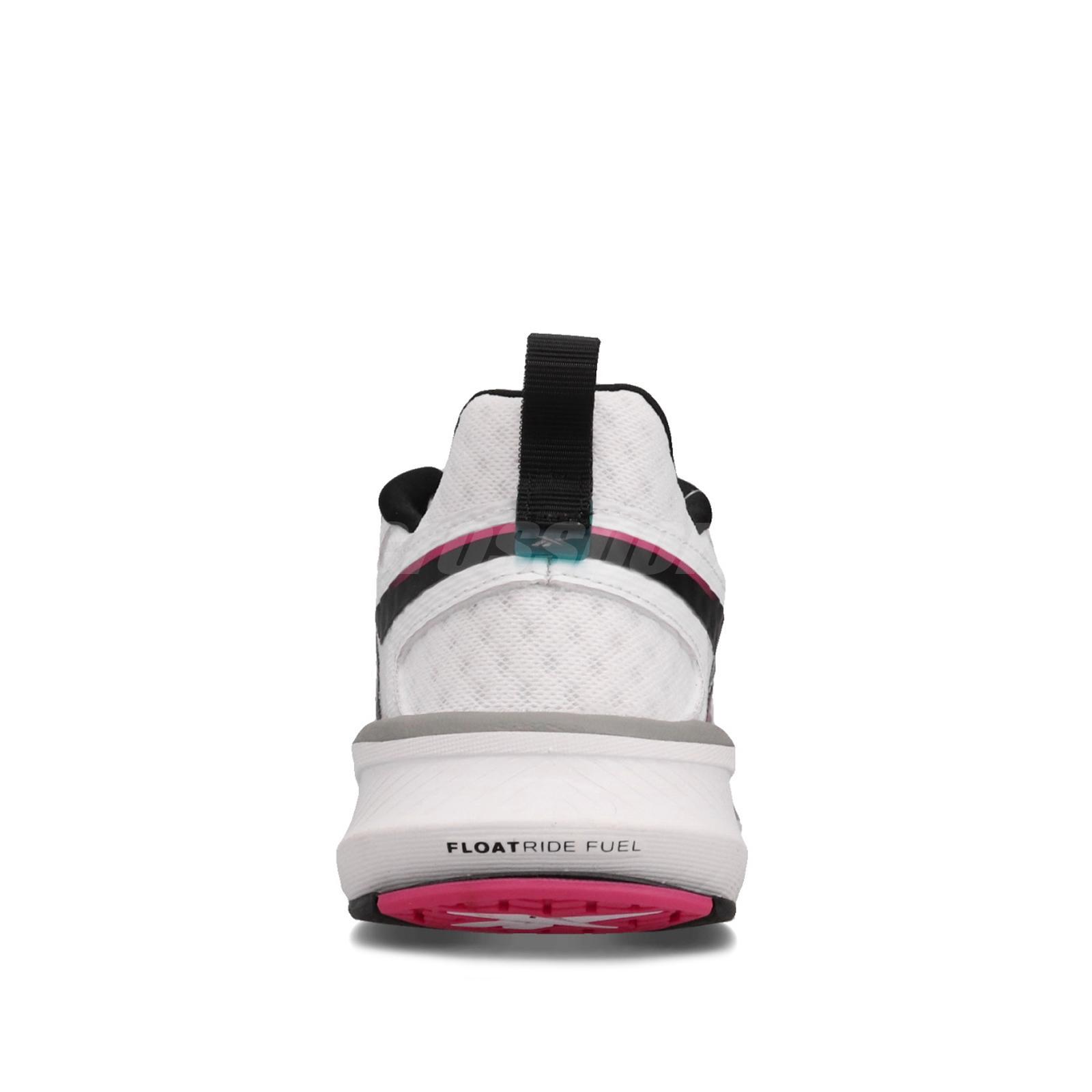 Reebok Rbk Fusium Run 20 White Black Pink Womens Cushion Running Shoes Eh0367 Ebay