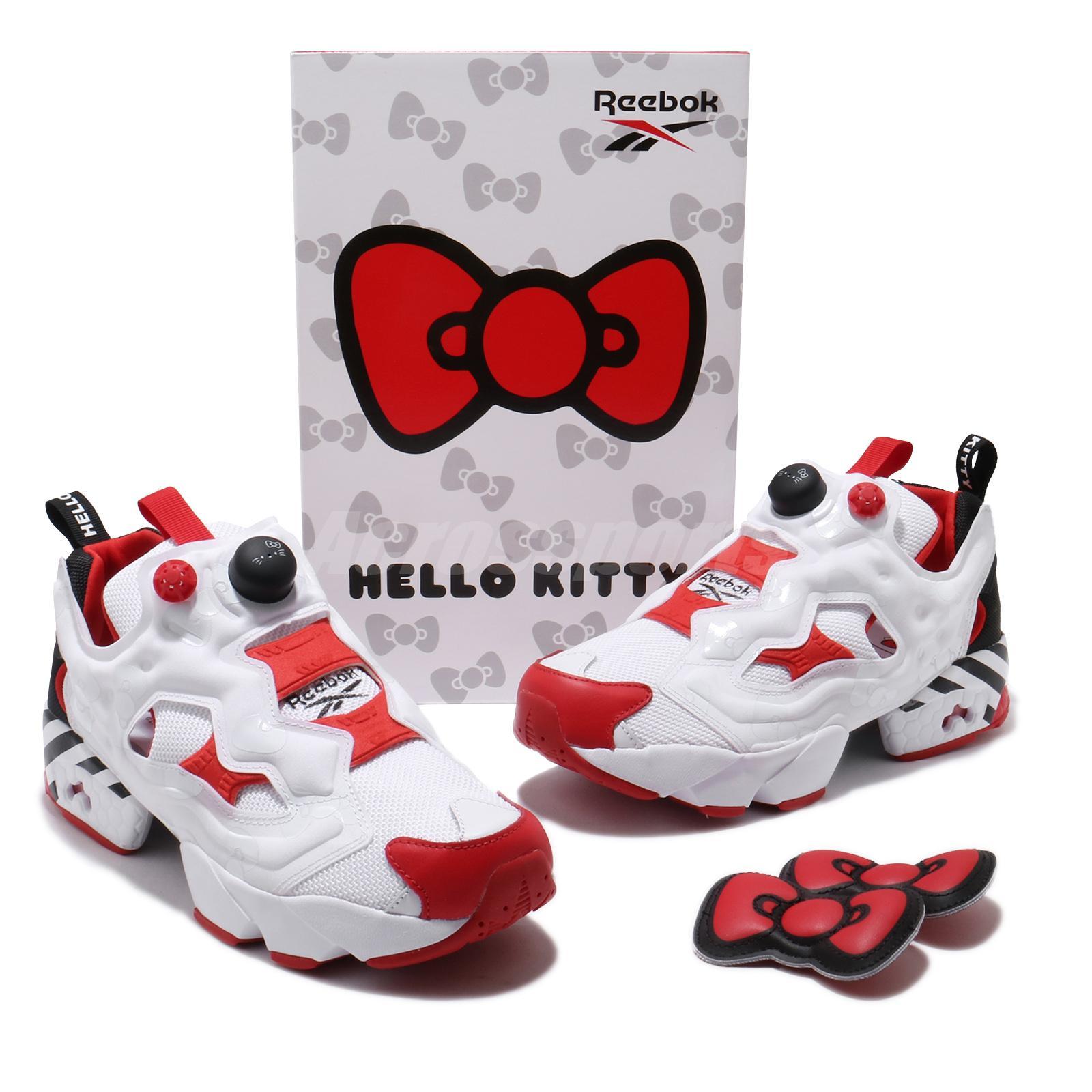 Reebok InstaPump Fury OG Sanrio Hello Kitty White Red Men Women Unisex EH2798