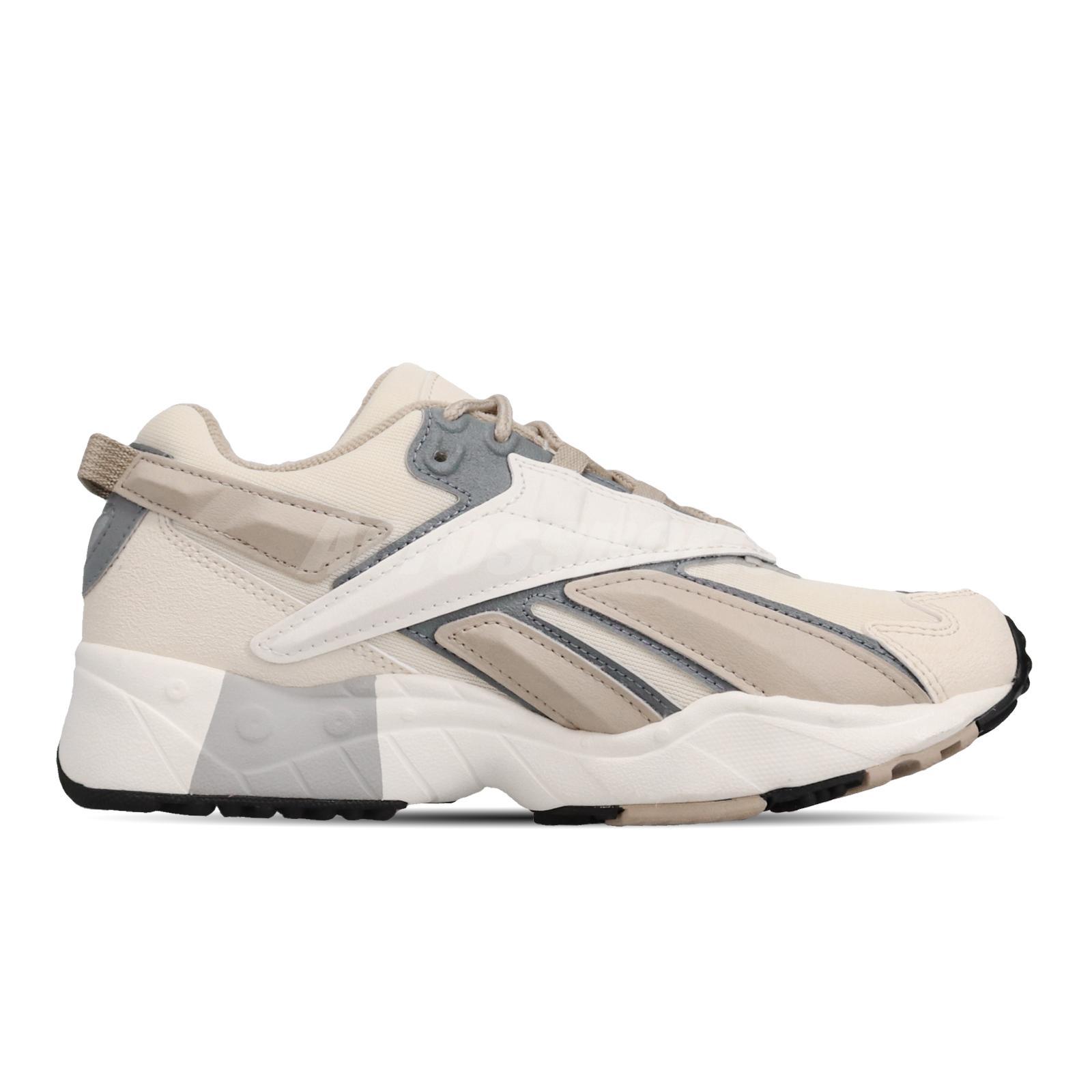 Reebok INTV 96 Chalk White Beige Mens Womens Retro Running Shoes Big Logo FV6305