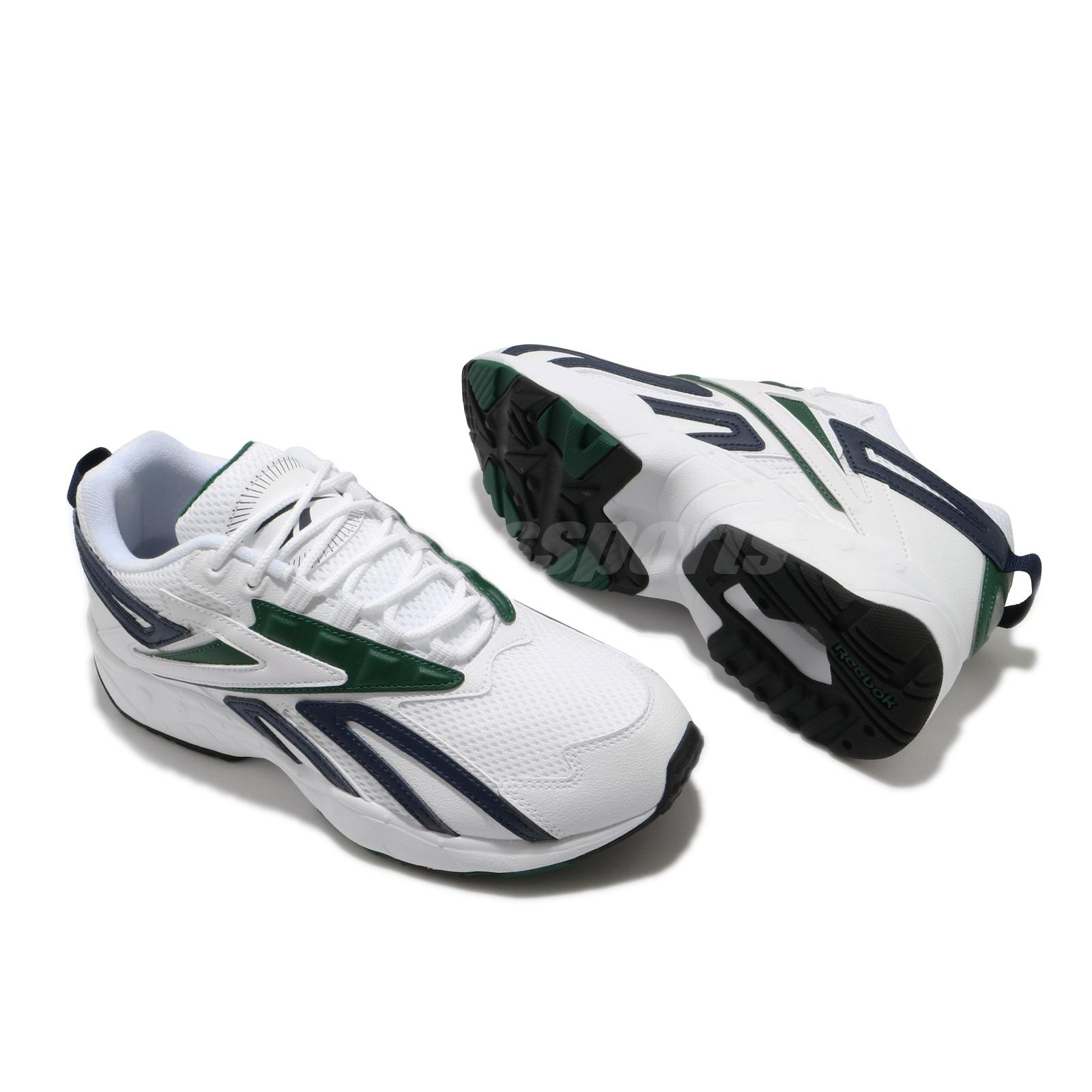 Details about  /Reebok Intv Logo Interval Double Black Green White Men Running Shoes FY1299