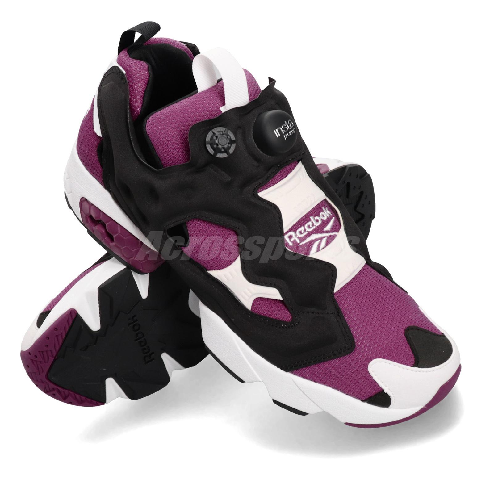 Reebok Instapump Fury OG M40933 schwarz//lila//weiß Männer Schuhe Sneaker