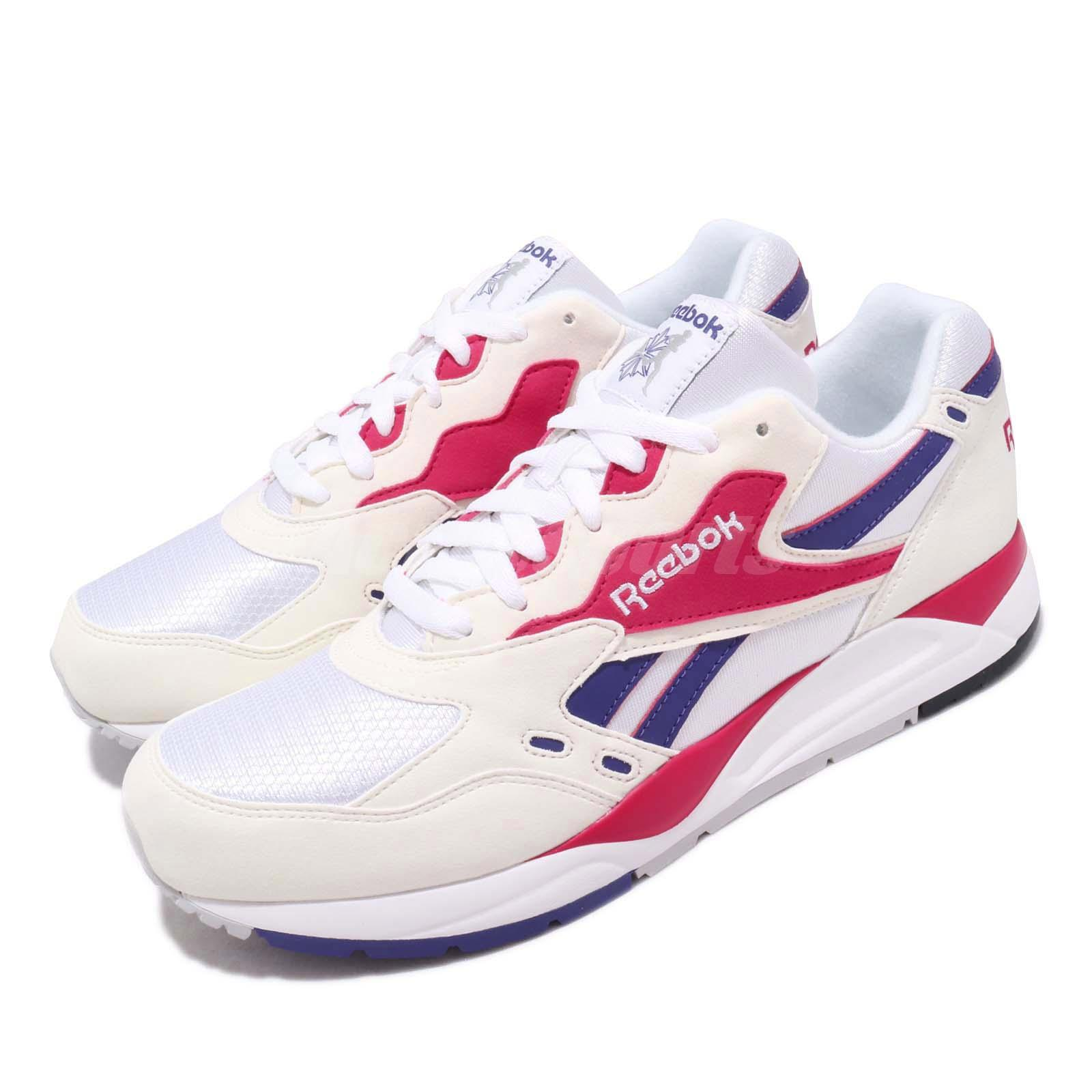 Details about Reebok Bolton Chalk White Magenta Pop Purple Men Running  Shoes Sneakers M49231 378792578