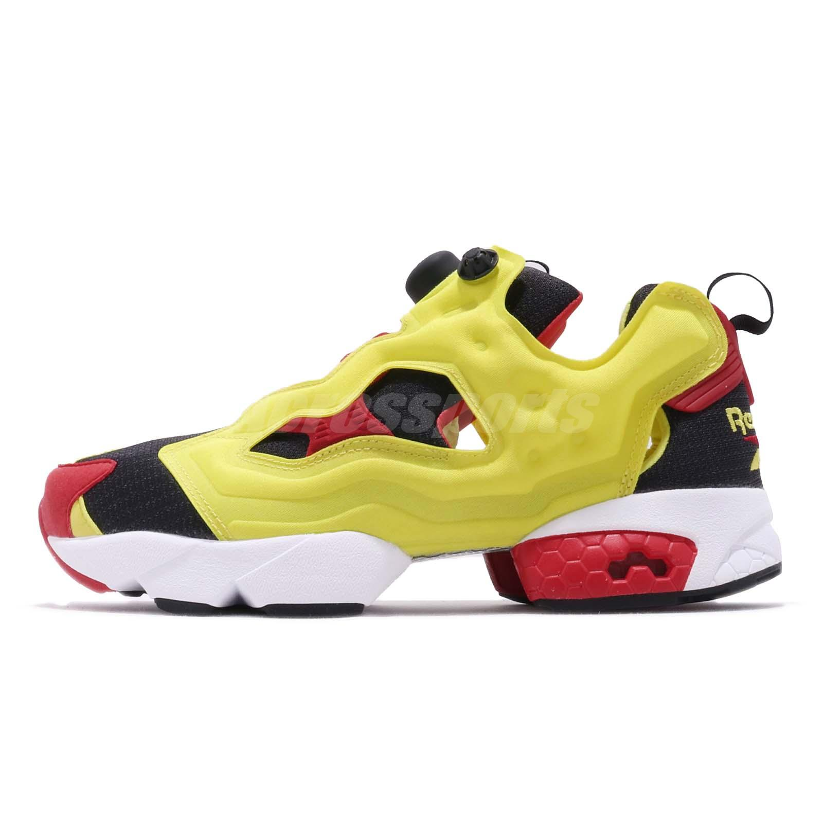 size 40 c7afd ba8ce ... norway reebok insta pump fury og citron yellow black red 2019 classic  sneakers v47514 bffab 11cf7