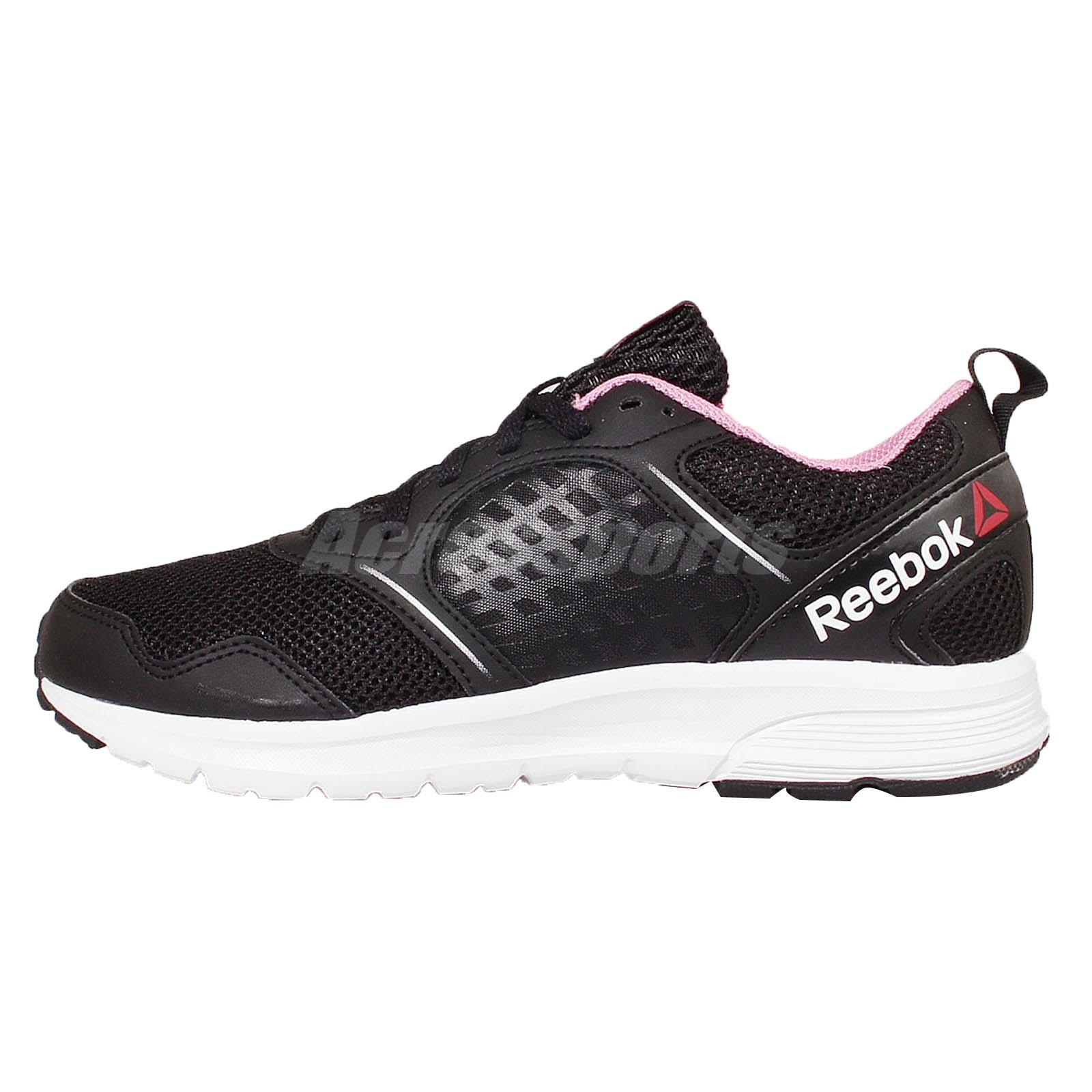 reebok womens running shoes. reebok rush black pink womens running shoes v68017