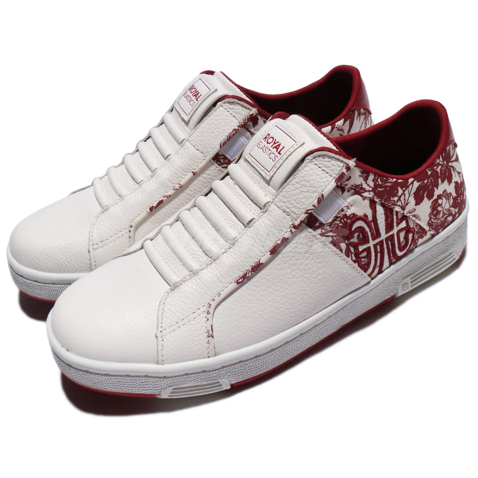 Royal Elastics Icon Z 1801 Floral White Red Women Shoe Sneakers ...