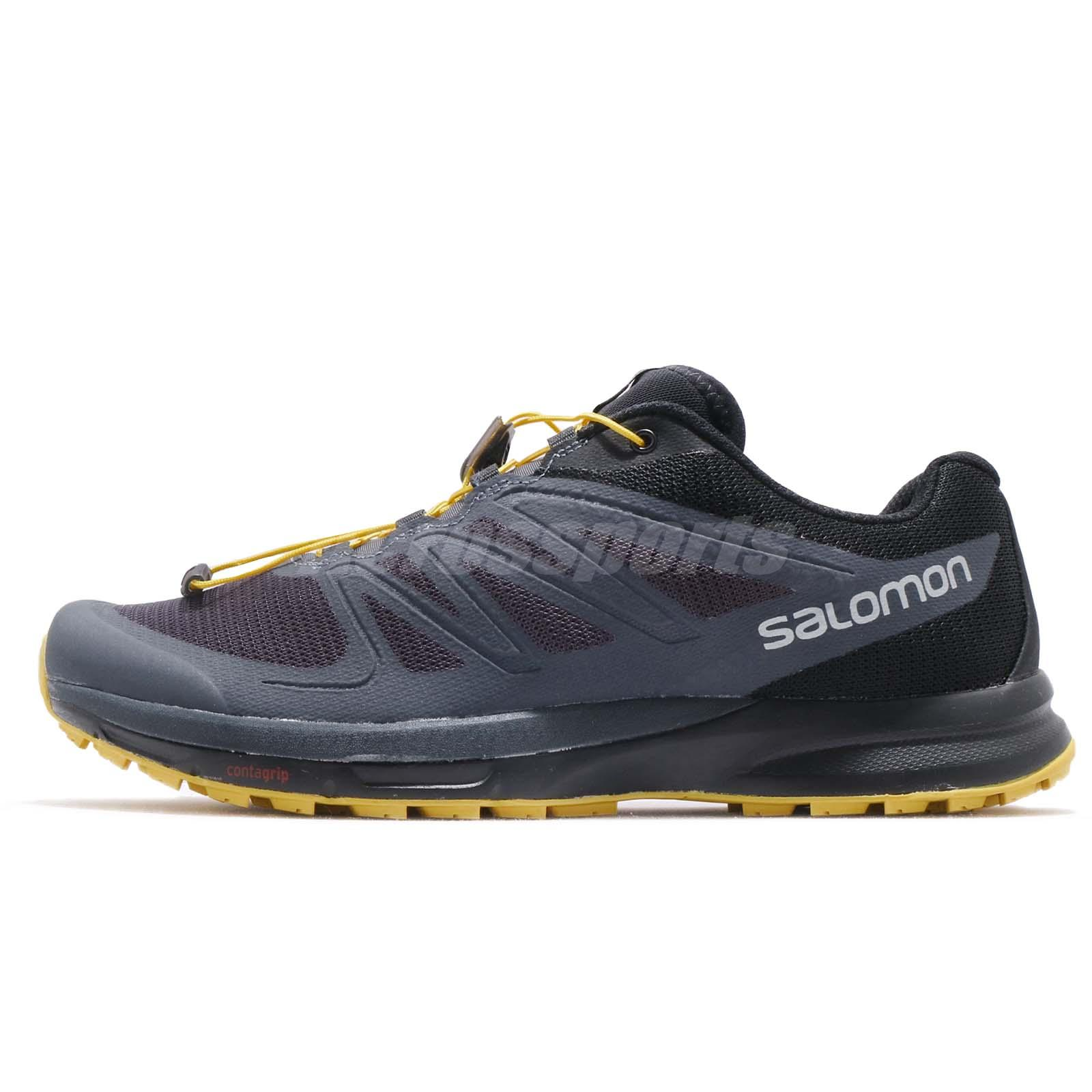 b77fb3f7 Details about Salomon Sense Pro 2 Grey Black Yellow Men Trail Running Shoes  Sneakers L39250300