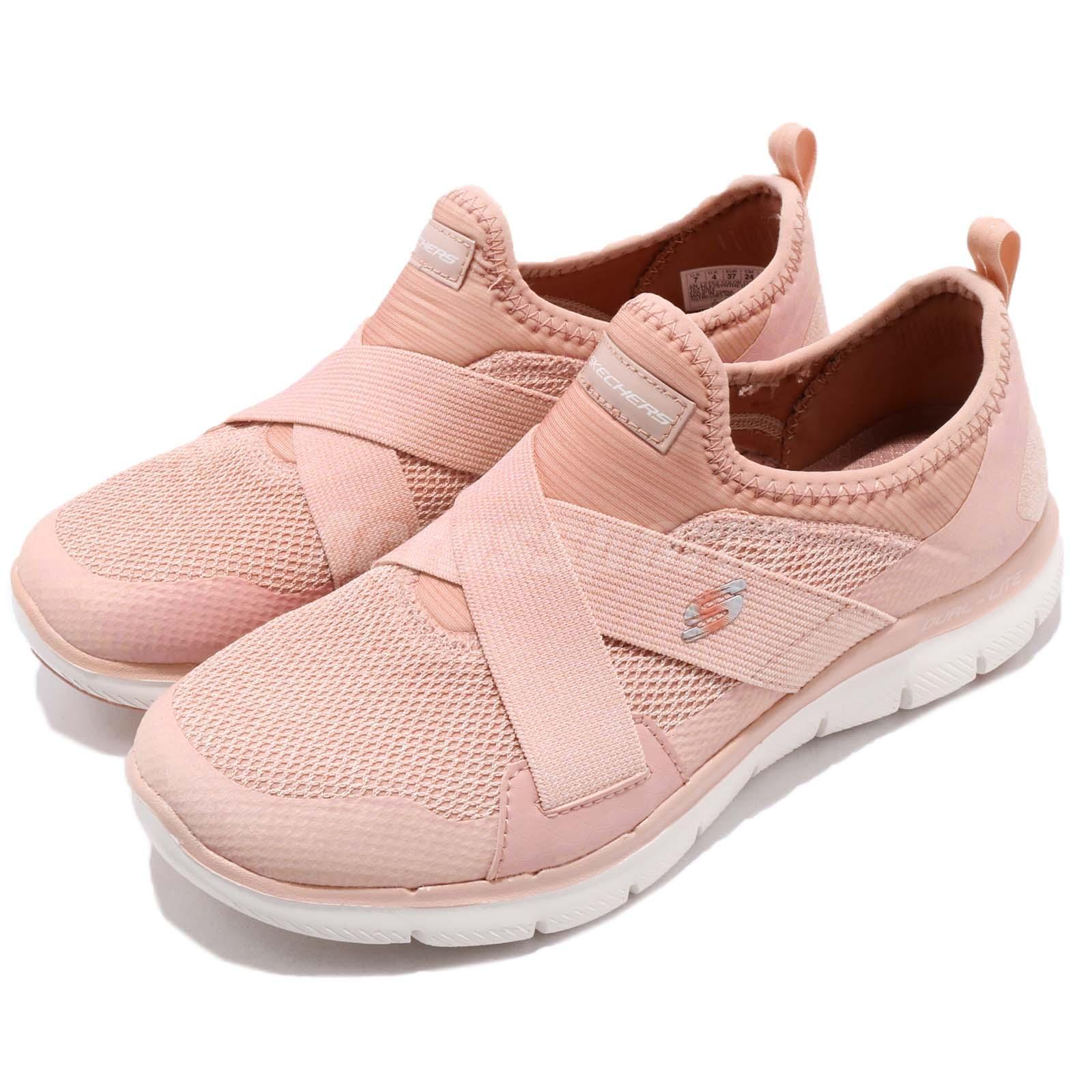 Skechers Flex Appeal 2.0-New Image Pink Women Slip On Shoes Sneakers 12752-ROS