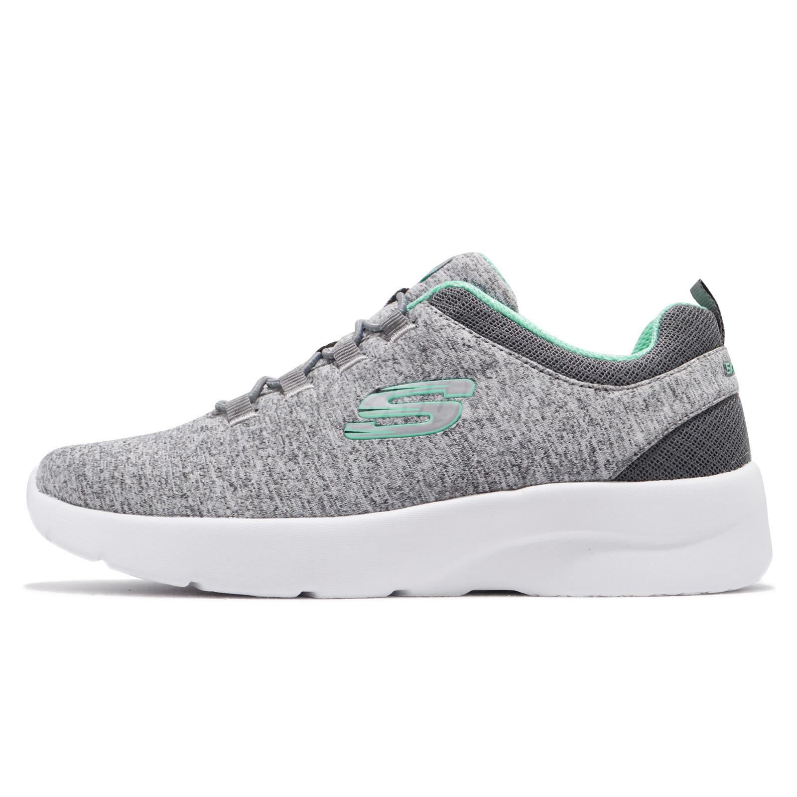 6351818f2f3ff Skechers Dynamight 2.0-In A Flash Grey Mint White Women Running Shoes  12965-GYMN