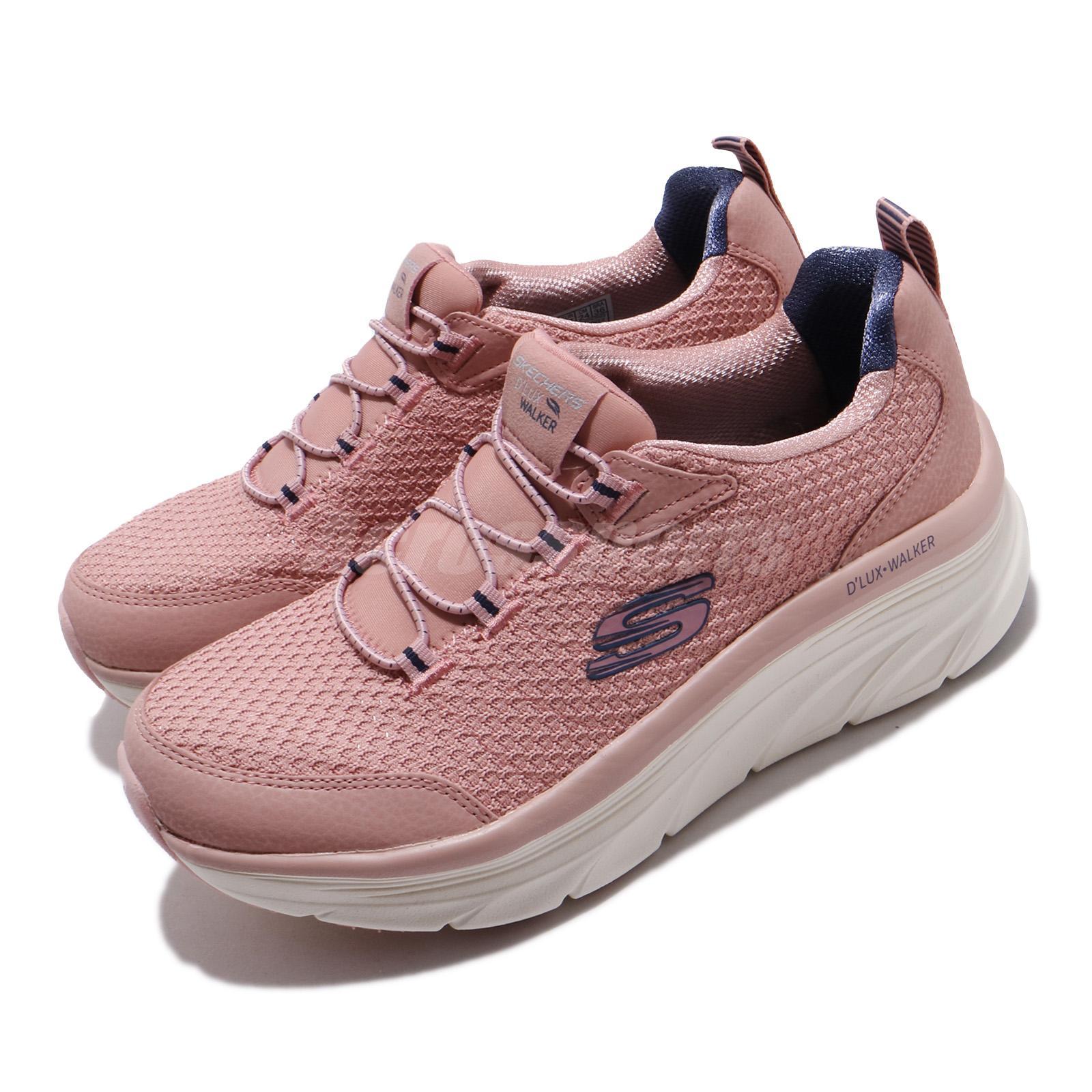 rose pink skechers