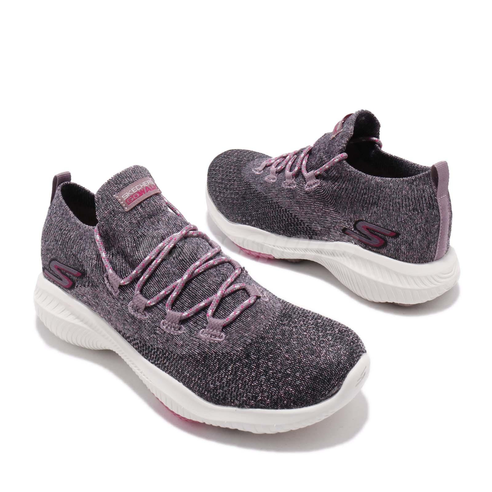 Details about Skechers Go Walk Revolution Ultra Ventured Black Pink Women Shoes 15670 BKPK