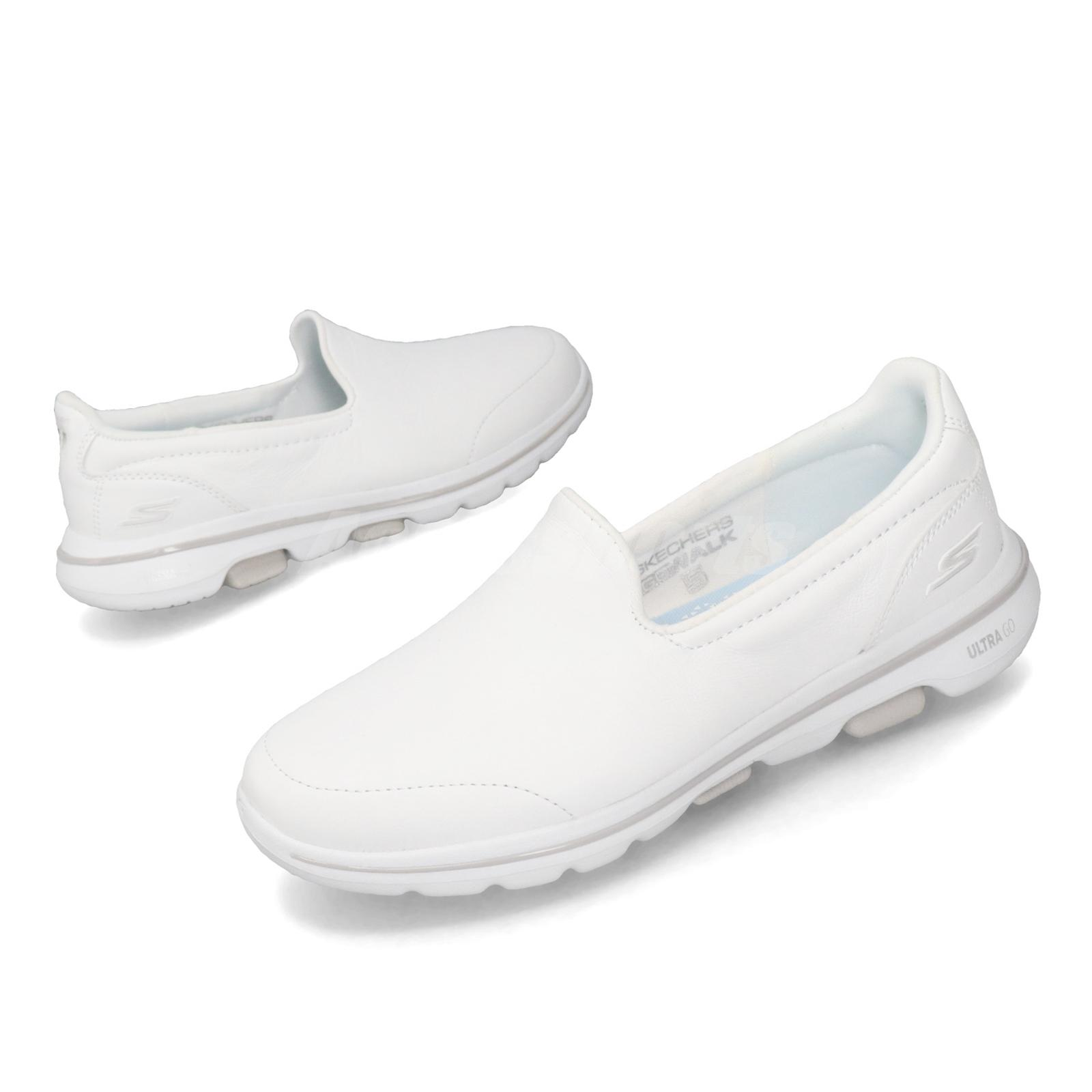 Skechers Go Walk 5-Polished White Women