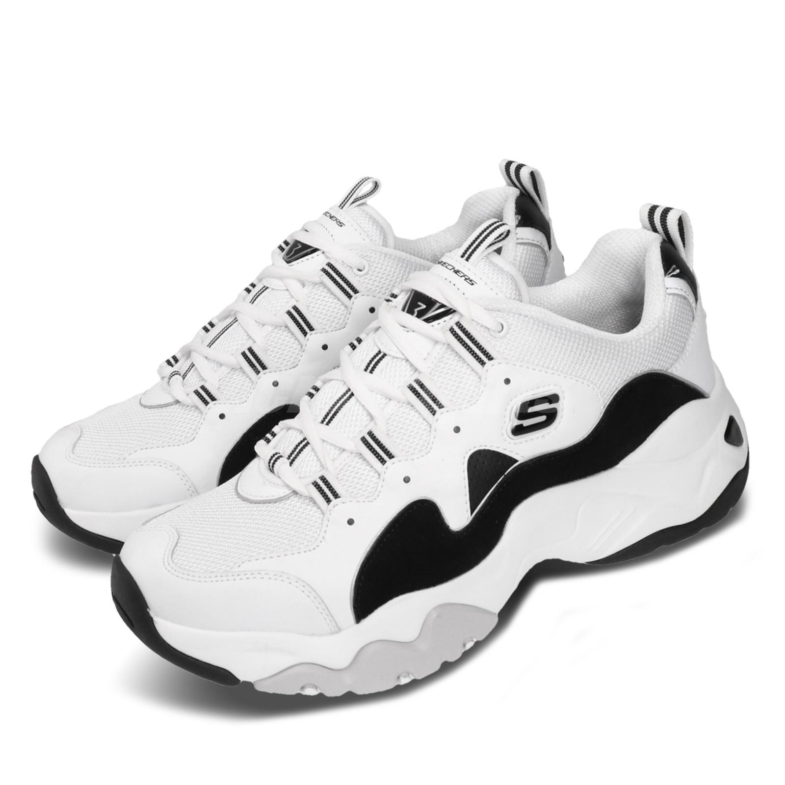 Skechers D Lites 3-Zenway White Black