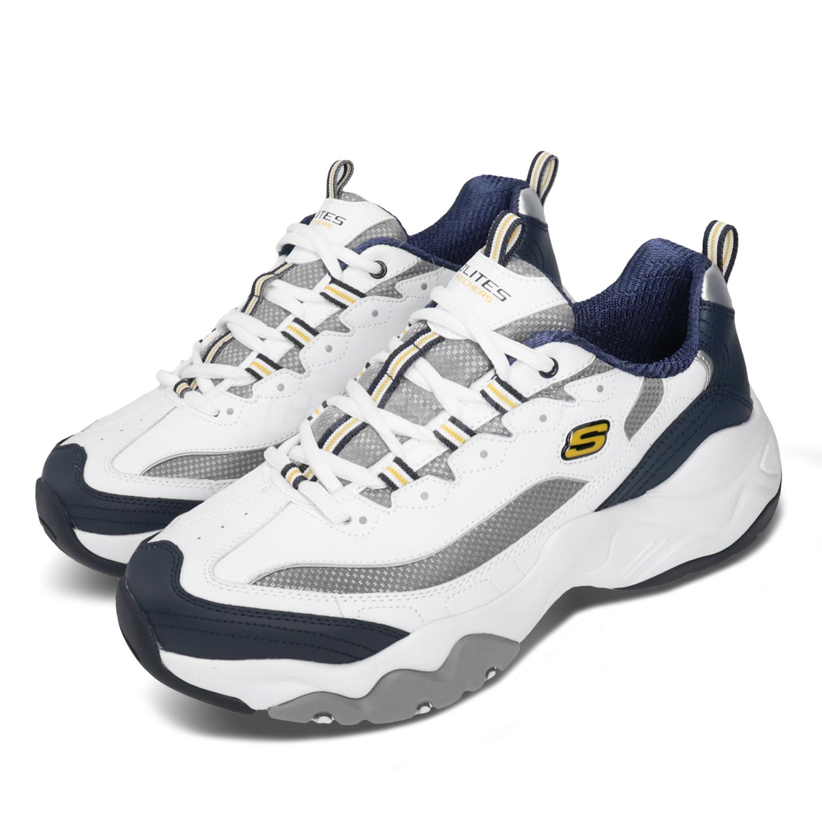 Skechers D Lites 3.0-Merriton White