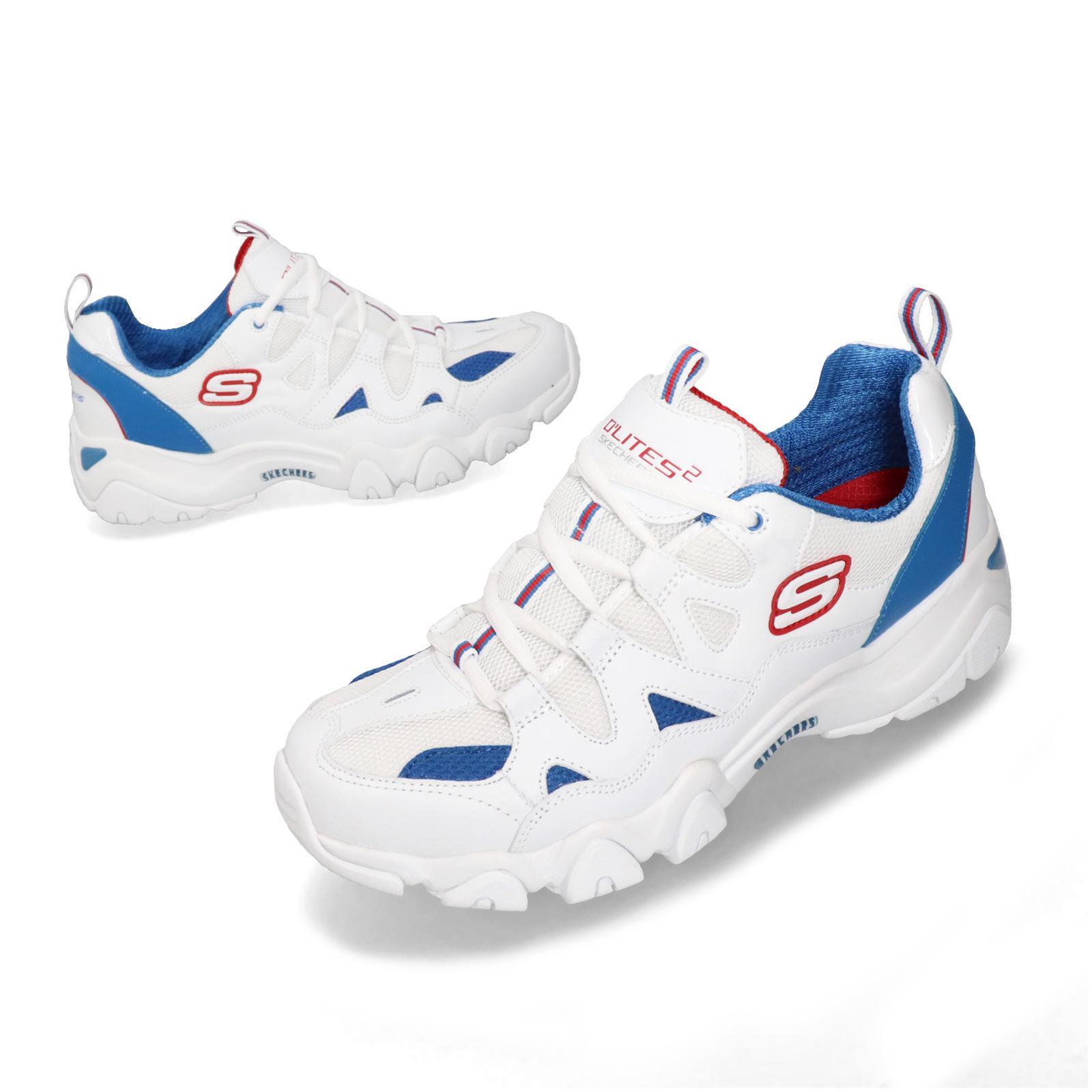Skechers D Lites 2.0-Duneo White Blue