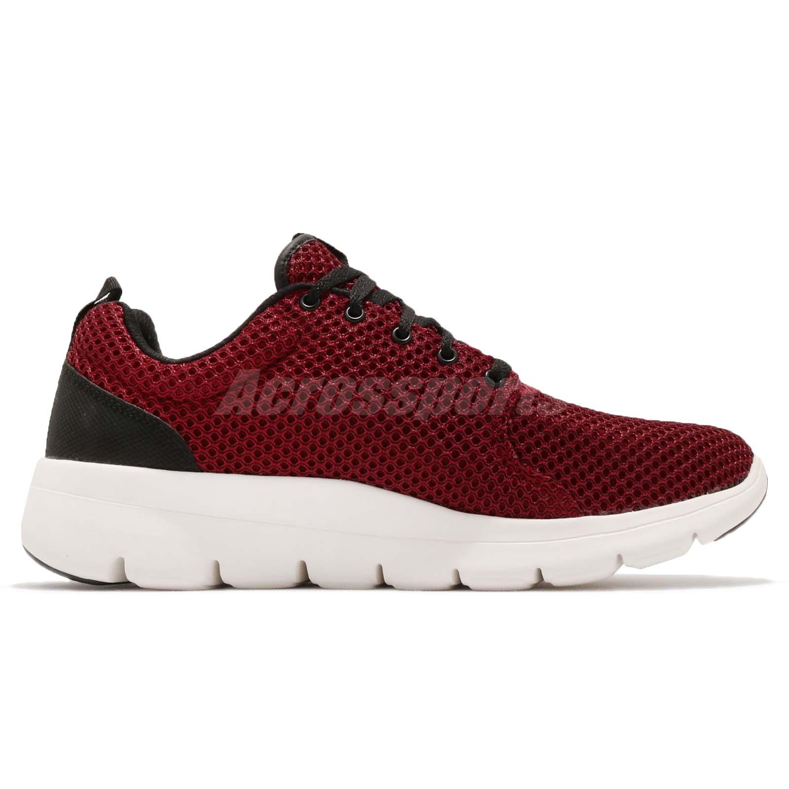 Details about Skechers Marauder Red Black White Men Running Walking Shoes Sneakers 52832 RED