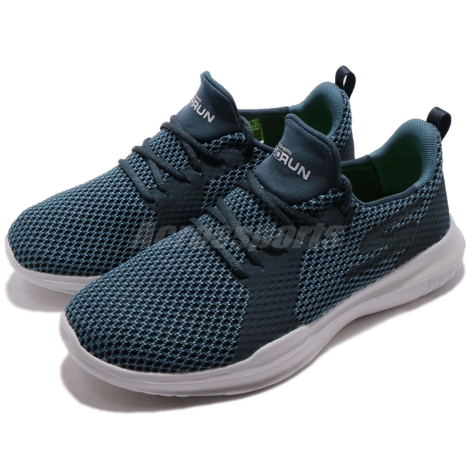 Detalles acerca de Skechers Mojo Pep Azul Go Run Hombres Blancos En Funcionamiento Zapatos Tenis 54359 BLU mostrar título original