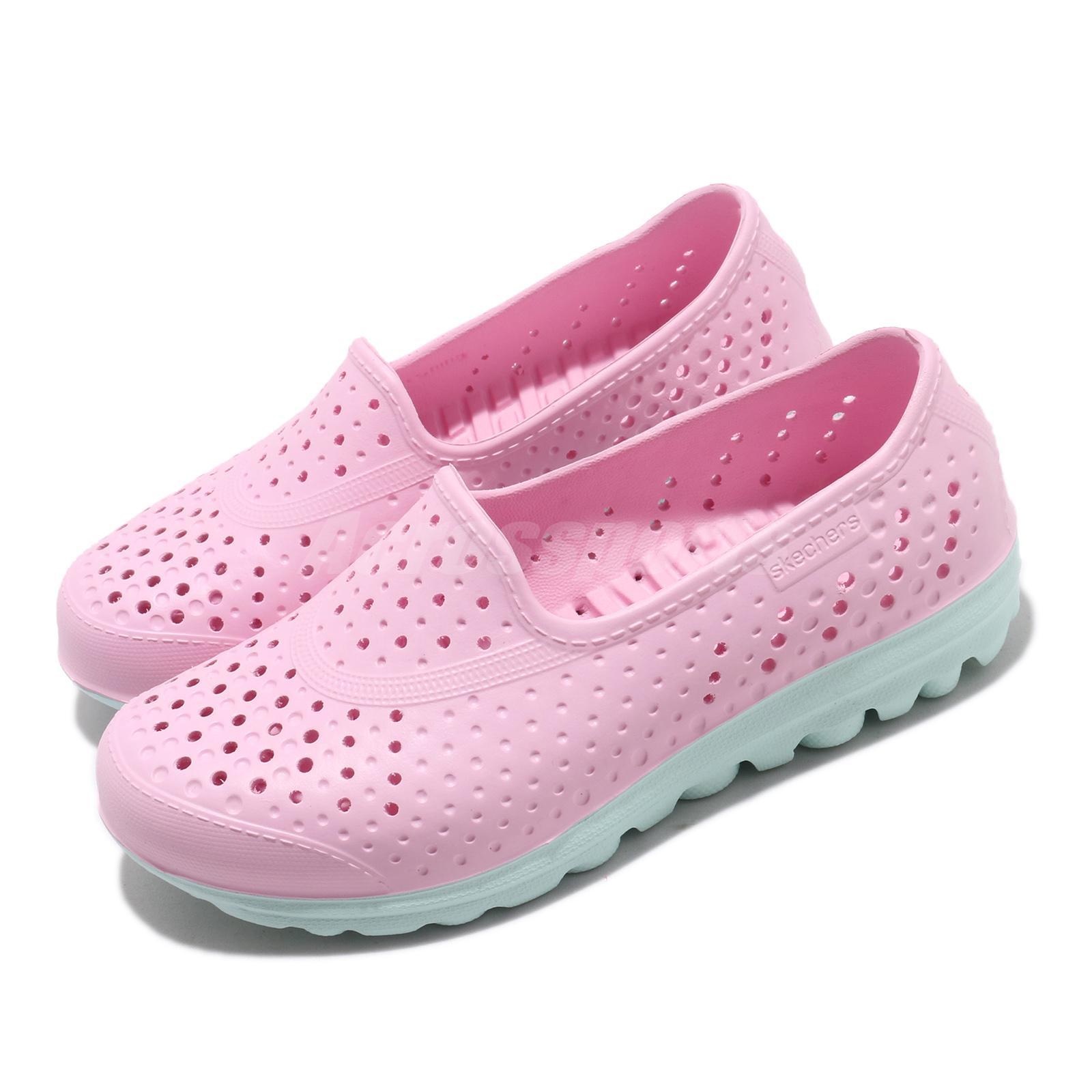 Mascotas mediodía recurso  Skechers H2GO-Waterlillys Pink Light Blue Kid Preschool Loafers Shoe  86622L-PKLB | eBay