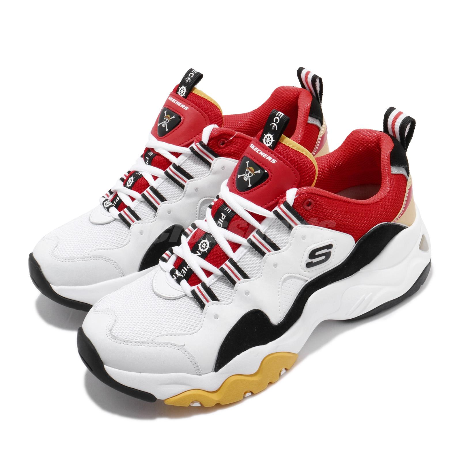 About Piece 0 Details DLuffy Skechers Monkey Wrdb 3 999112 Shoes Red Men One D Lites White q5jL43AR