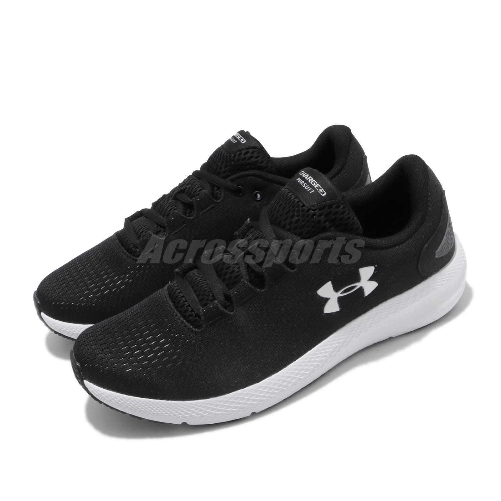 Women/'s UNDER ARMOUR CHARGED ROGUE 3021247-002 BLACK Lace Up Running Shoes