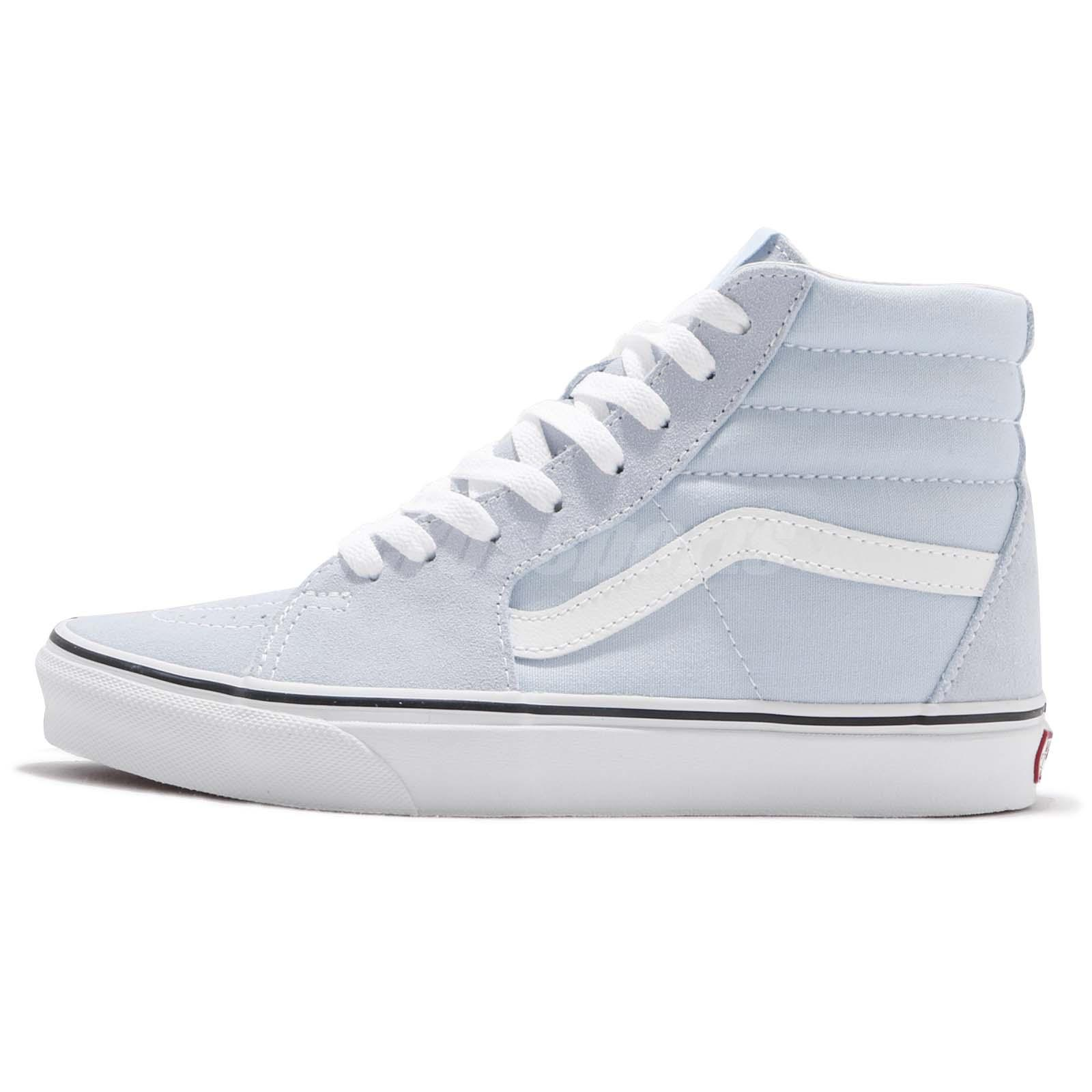 4094e4f1810 Vans SK8-Hi Baby Blue White Men Skate Boarding Casual Shoes Sneakers  VN0A38GEQ6K