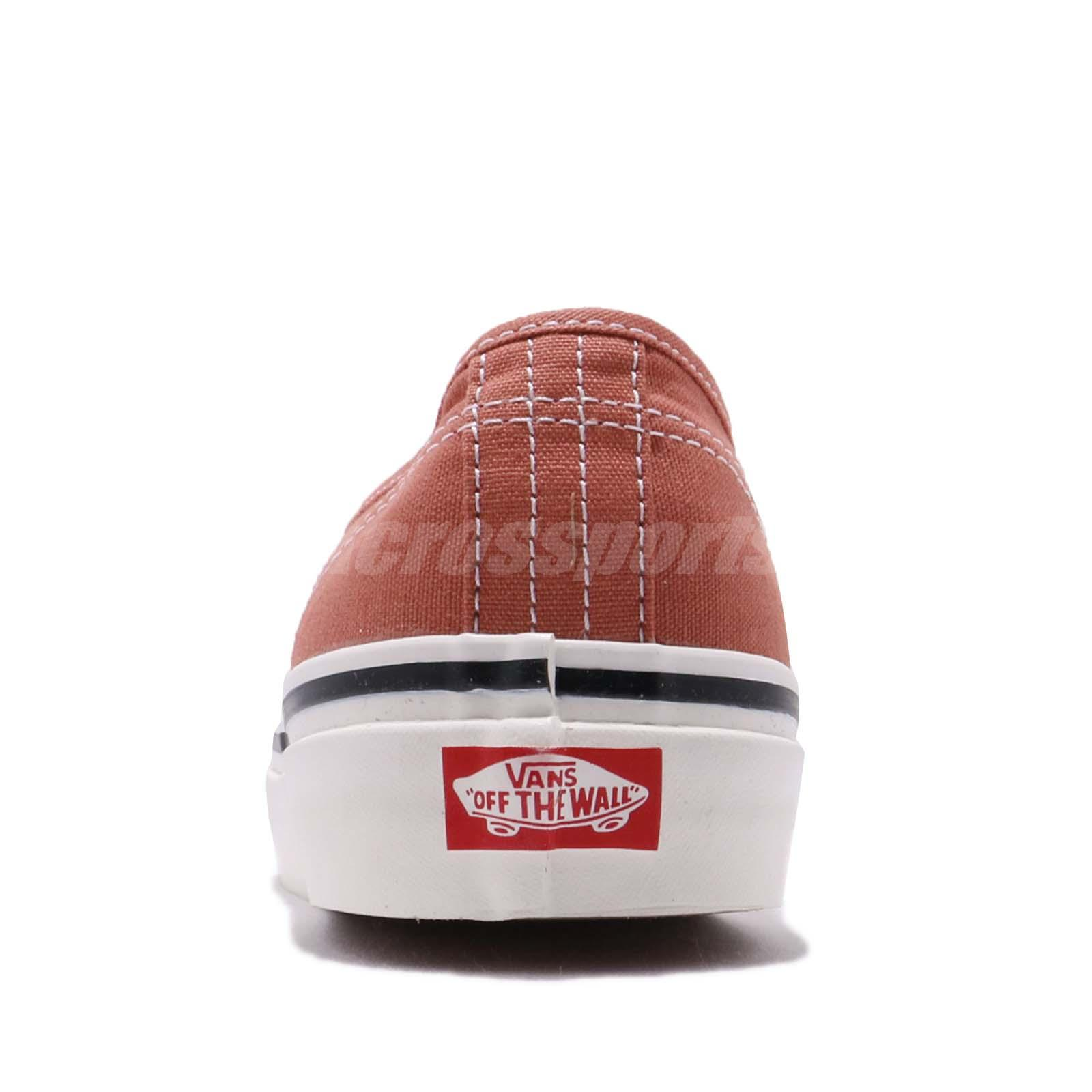 822d8a0da7 Vans Authentic 44 DX Anaheim Factory OG Rust Men Skate Boarding ...