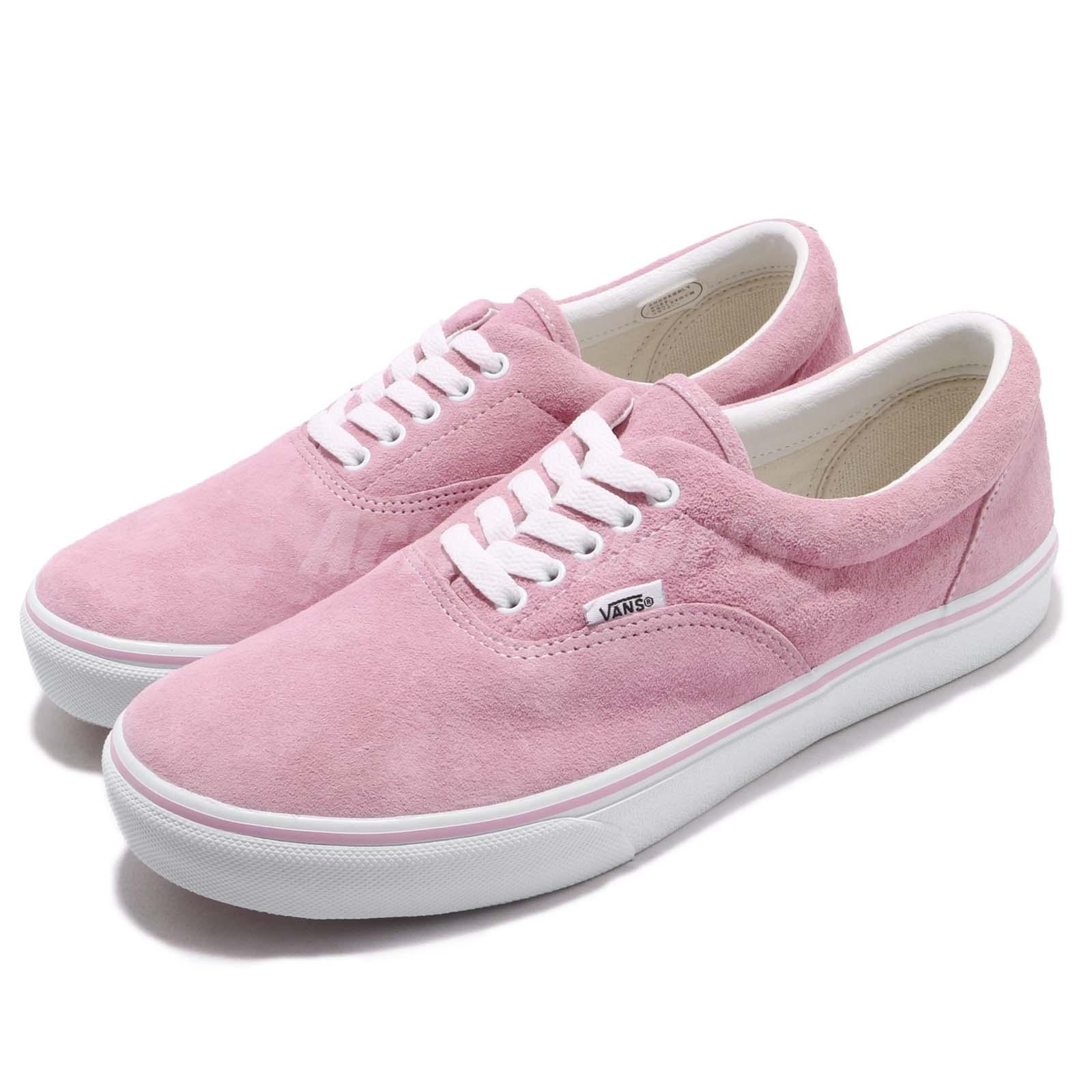 be8932984d Details about Vans Era DX Pink White Suede Men Skate Boarding Casual Shoes  Sneakers V95SCLWV